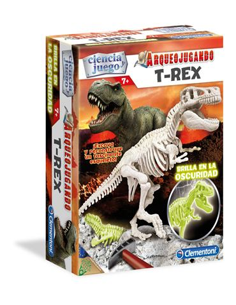 Arqueojugando - T Rex (Fosforescente)