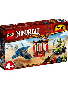 Lego Batalla Caza Supersonico 71703