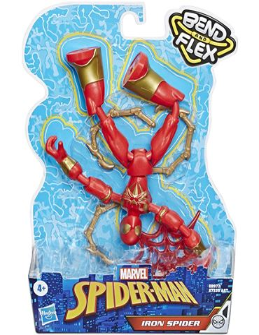 Figura - Bend and Flex: Iron Spider Flexible Marve