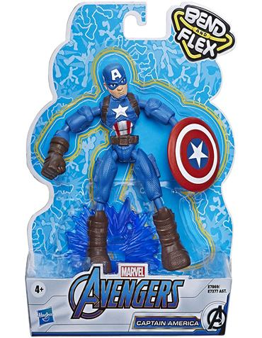 Bend and Flex - Capitan America Flexible (Avengers