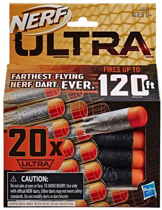 Nerf Ultra20 dardos