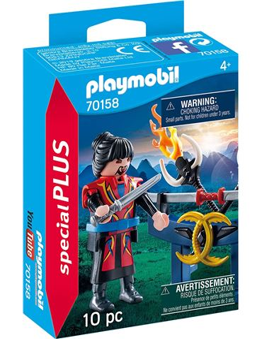 Playmobil - Guerrero Asiatico 70158
