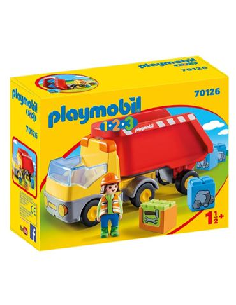 Playmobil - 1.2.3: Camion Construccion