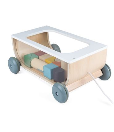Carrito con Bloques - Sweet Cocoon: Madera