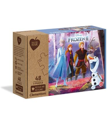 Puzzle - Play for Future: Frozen 2 Amigos 3x48 pcs