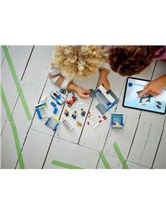 Casco Infantil - Gafas de Moto (Negro/Amarillo)
