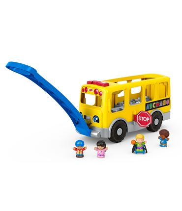 Autobus - Escolar Amarillo Grande Little People