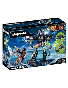 Playmobil - Top Agents: Arctic Rebels Robot Hielo
