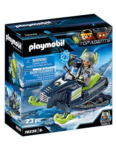 Playmobil - Top Agents: Arctic Rebels Moto Hielo