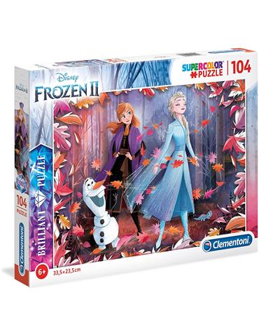 Puzzle - Frozen 2: Libertad Brillo 104 pcs