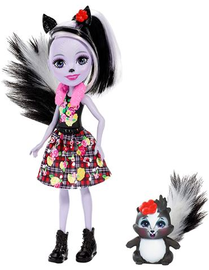 Enchantimals - Muñeca Sage Skunk y Caper