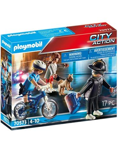 Playmobil - Bici Policial persecución del carteris
