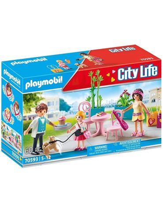 Playmobil City Life - Cafetería