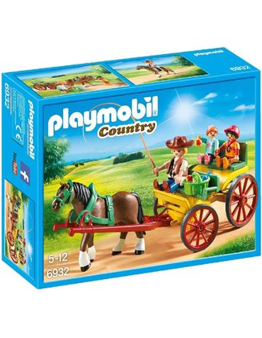 Playmobil - Country: Carruaje con Caballo