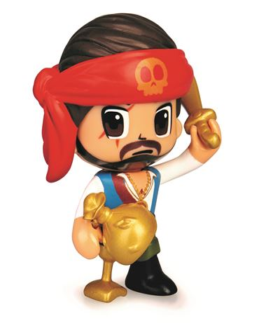 PinyPon - Figura Pirata Calabera