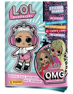 Album Sticker Diario - LOL Surprise OMG
