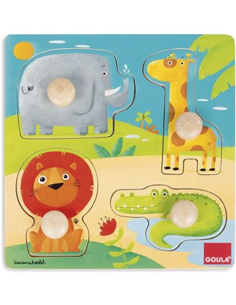 Goula Puzzle Animales de la Selva