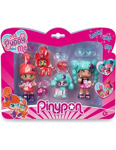 Pinypon - Set de 2 figuras: My Puppy