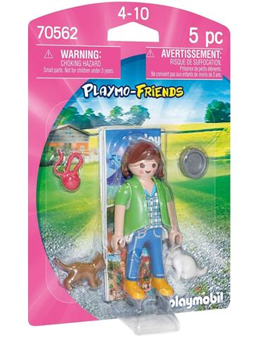 Playmobil - Mujer con gatitos