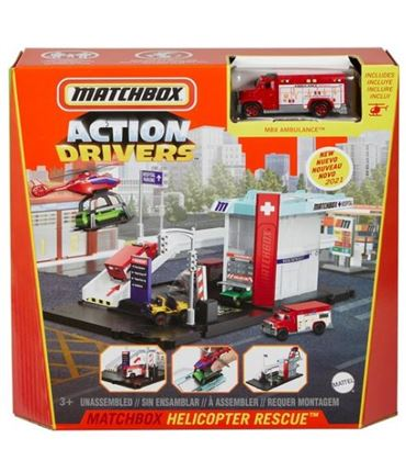 Matchbox Helicopter Playset