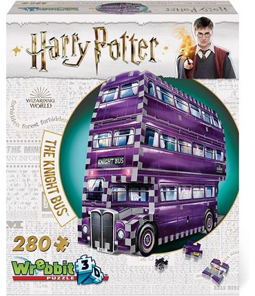 Puzzle 3D Harry Potter Bus Noctam