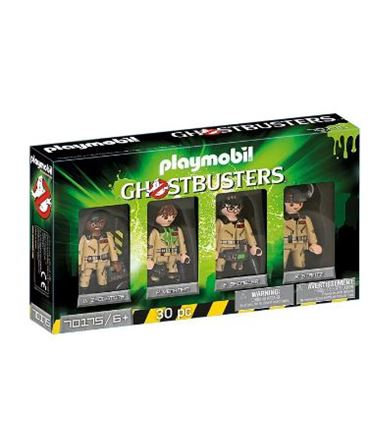 Playmobil Ghostbusters Set Figuras 70175