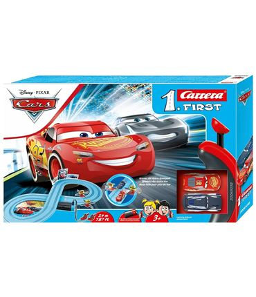 Circuito Cars Power Duell - Rayo y Storm