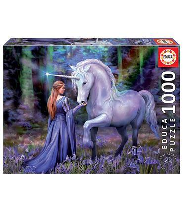 Puzzle 1000 piezas Bluebell Woods