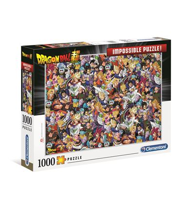 Puzzle 1000 Imposible - Dragon Ball