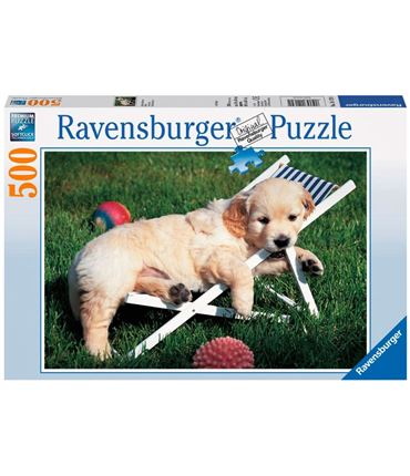 Puzzle 500 piezas Golden Retriever