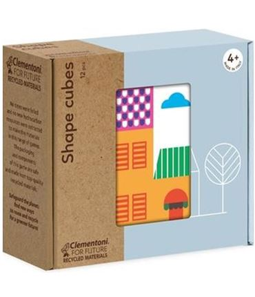 Puzzle - Play for Future: Cubos: Fromas Casas