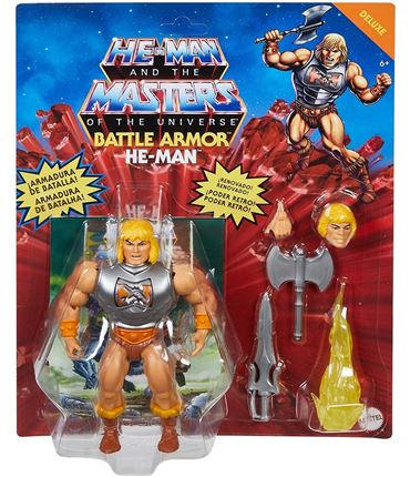 Figura - Masters of the Universe: He-Man Luxe