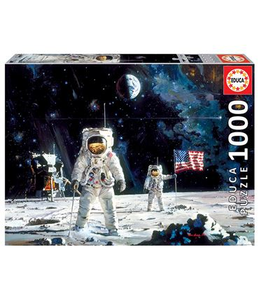 Puzzle 1000 piezas First Men on the Moon
