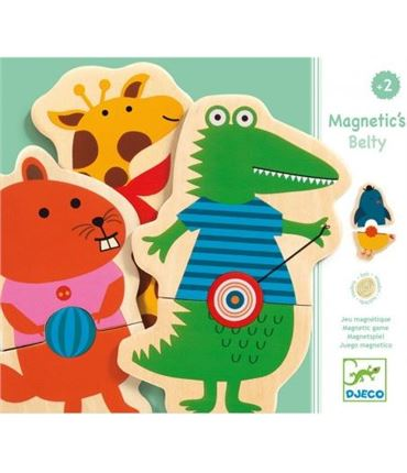 Puzzle - Magneticos Belty Animales
