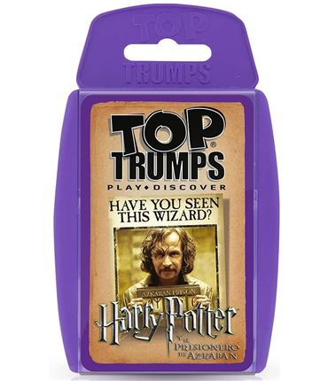 TOP Trumps - Harry Potter y el Prisionero de Azkab
