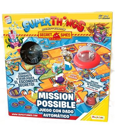 Juego de mesa - Superthings: Mission Possible
