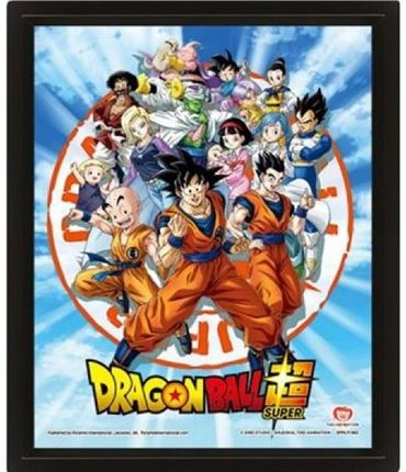 Poster 3D DNZ Goku & The Z Fighters