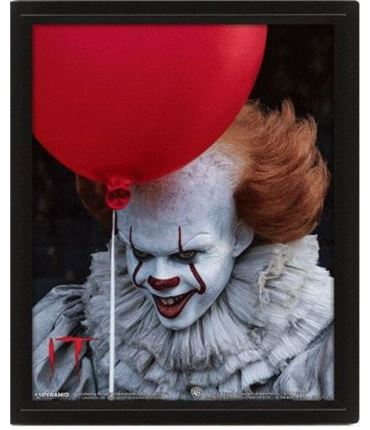 Poster 3D Pennywise Flip It