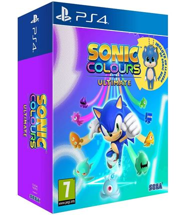 PS4 - Sonic: Colours Ultimate Day One Edition