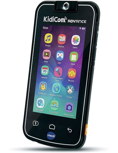 Telefono Infantil - Kidicom Advance Negro