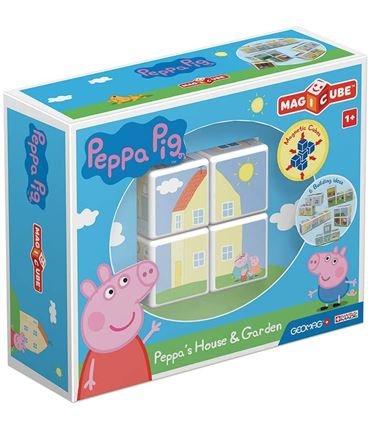 Puzzle - Peppa Pig House&Garden (Magnetico)