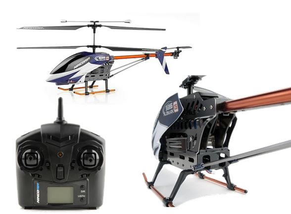 helicopter alumax