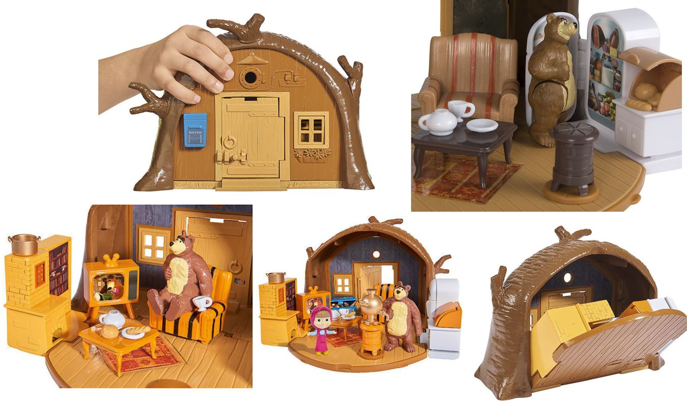 casa oso de masha