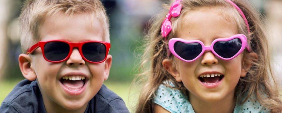 Gafas de sol para los peques
