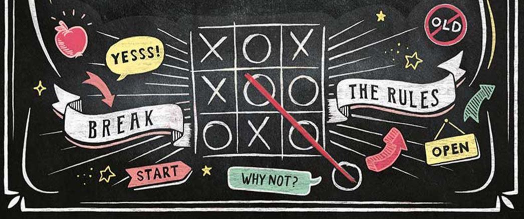 ¿Una pizarra o un puzzle?