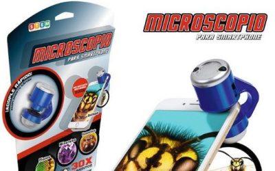 Microscopio para móvil