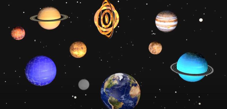 Sistema Planetario 3D